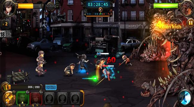 Trải nghiệm 3Q Phản Công – game chiến thuật đấu zombie đòi hỏi sự nhanh tay lẹ mắt