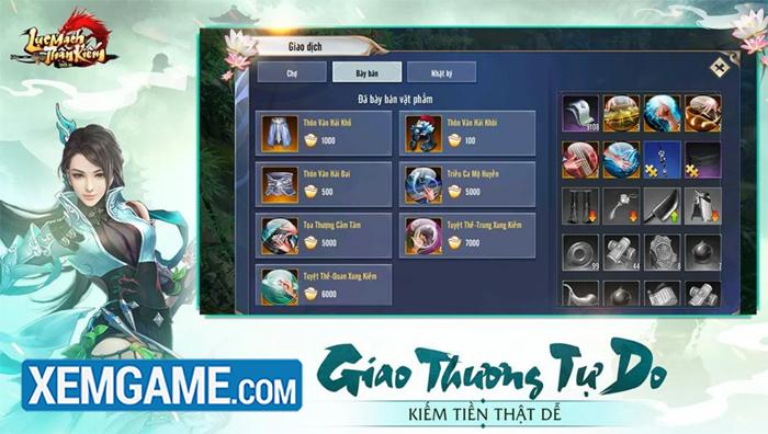 Lục Mạch Thần Kiếm 3D | XEMGAME.COM