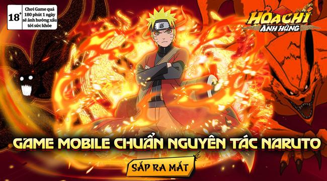 Game Naruto H5 – Hỏa Chí Anh Hùng sắp được phát hành tại Việt Nam
