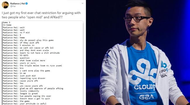 LMHT: Hai bất ngờ bị cấm chat oan, cộng đồng phẫn nộ với hệ thống xử phạt của Riot Games