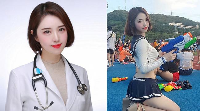 """Cộng đồng mạng lụi tim với nhan sắc ngọt ngào của """"nữ thần bác sĩ"""" Hàn Quốc"""