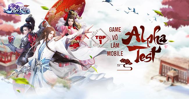 Ngự Kiếm Mobile – MMORPG đậm chất võ hiệp chính thức Alpha Test