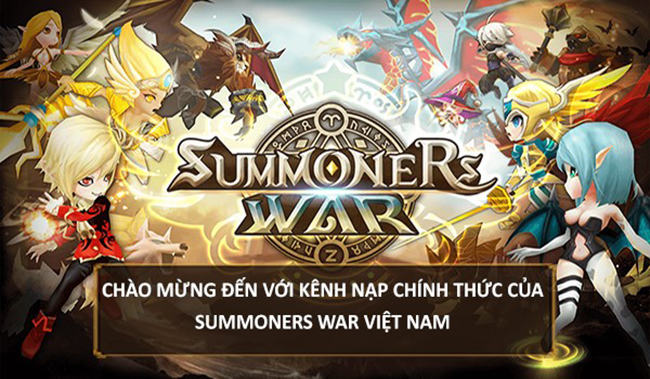 """Summoners War tặng giftcode khi sử dụng cổng thanh toán """"made by Funtap"""""""