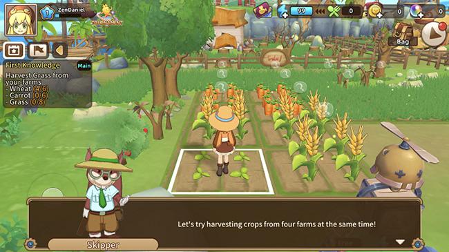 Tour of Neverland – game nông trại sắc nét đã hỗ trợ Tiếng Anh