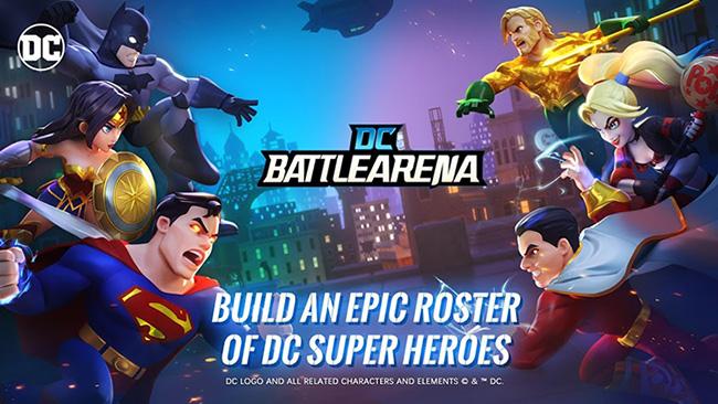DC Battle Arena – game sinh tồn đối kháng kiểu MOBA dành cho fan cứng DC