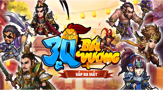 3Q Bá Vương – Game đấu tướng 6vs6 hài hước của SohaGame sắp ra mắt