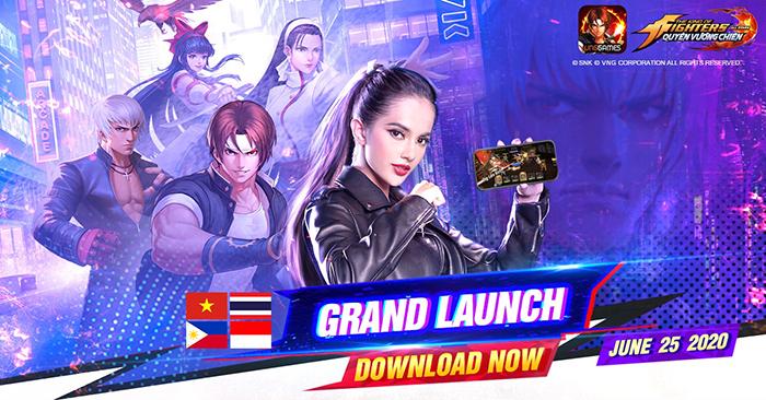 Tặng vô vàn giftcode KOF AllStar VNG – Quyền Vương Chiến nhân dịp game ra mắt