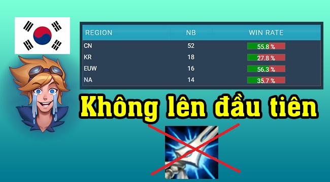LMHT: Chỉ vì lối lên đồ sai lầm mà các Xạ Thủ Hàn Quốc đã mất đi danh hiệu Ezreal giỏi nhất thế giới