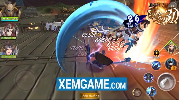 Tam Quốc Vô Song 3D | XEMGAME.COM