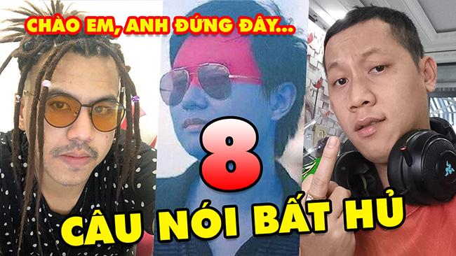 TOP 8 câu nói BẤT HỦ của các streamer đình đám Việt Nam: Thầy Giáo Ba, Dũng CT, Mimosa Chu…