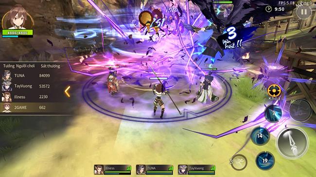 Tam Quốc Vô Song 3D cho người chơi làm chủ hoàn toàn kĩ năng chiến đấu