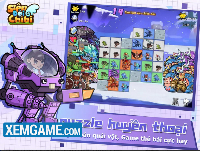 Siêu Đội Chibi | XEMGAME.COM