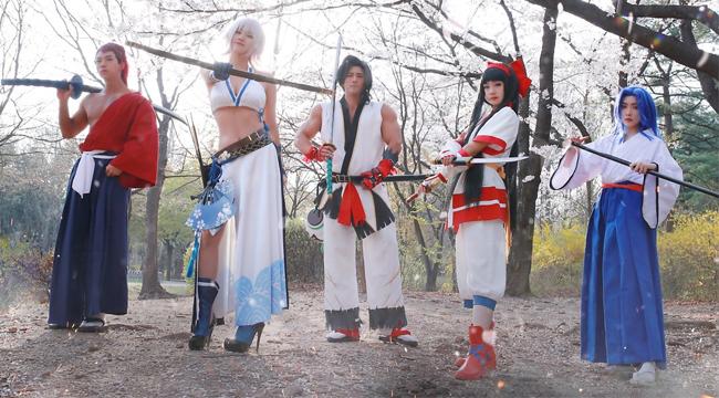 Mãn nhãn với màn cosplay siêu thực của Samurai Shodown VNG