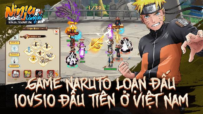 Ninja Làng Lá mobile – tựa game đầy ấn tượng lấy đề tài Naruto về VN