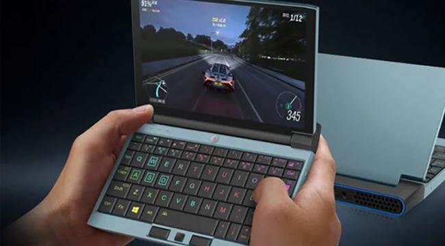OneGx1: Laptop gaming chỉ bé bằng bàn tay nhưng cân được cả PUBG