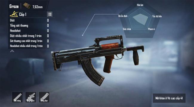 Top 6 khẩu súng cân cả thế giới trong  PUBG Mobile