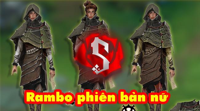 """LMHT: Lộ hình ảnh và kỹ năng của tướng mới Samira – """"Rambo phiên bản nữ"""""""