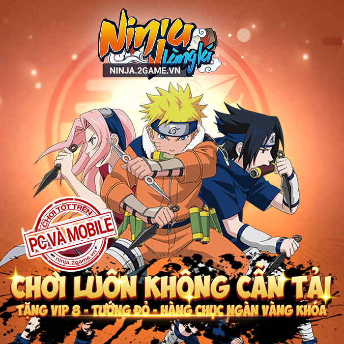 Tặng 999 giftcode game Ninja Làng Lá Mobile 1