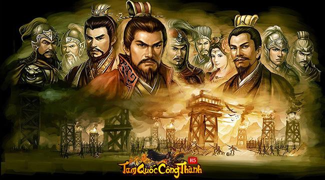 Tam Quốc Công Thành H5: Game SLG điều binh khiển tướng siêu hot