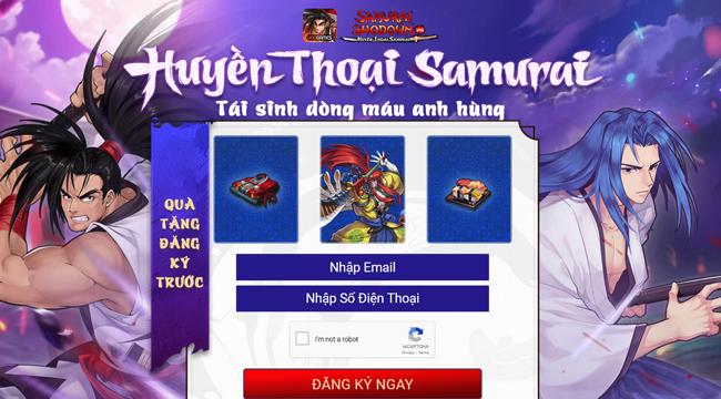 Samurai Shodown VNG mở trang chủ tiếng Việt