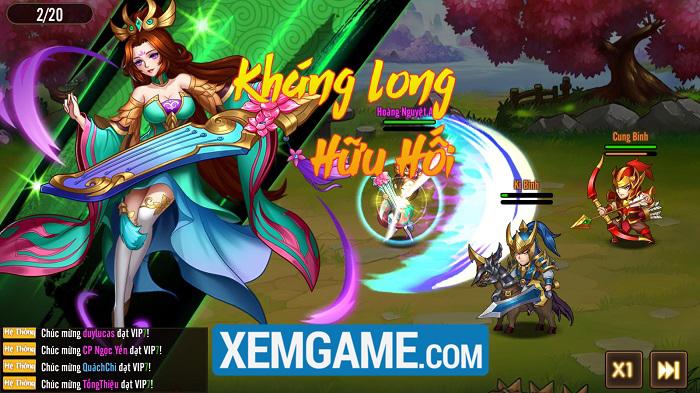 Võ Thần Tam Quốc   XEMGAME.COM