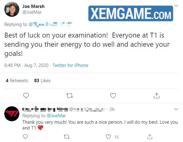 Fan Việt may mắn nhất quả đất: Bày tỏ tình yêu với T1, được đích thân Chủ tịch đội tuyển phản hồi, gửi lời chúc thi tốt - Ảnh 2.