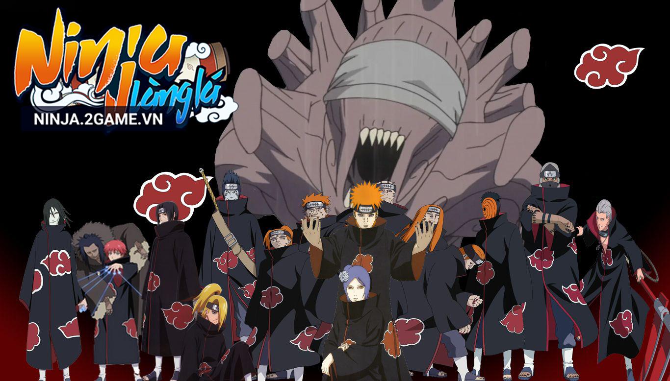 Tổ chức Akatsuki sẽ là trợ thủ đắc lực của bạn trong Ninja Làng Lá