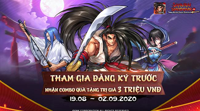 Samurai Shodown VNG mở đăng ký trước cho game thủ Việt Nam