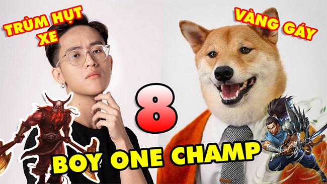 TOP 8 Boy One Champ đình đám nhất LMHT server Việt Nam hiện nay: Cậu Vàng, Hà Tiều Phu…