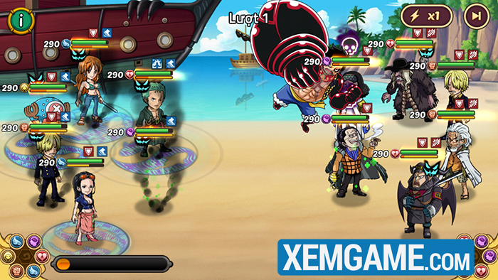 Hải Tặc Đại Chiến | XEMGAME.COM