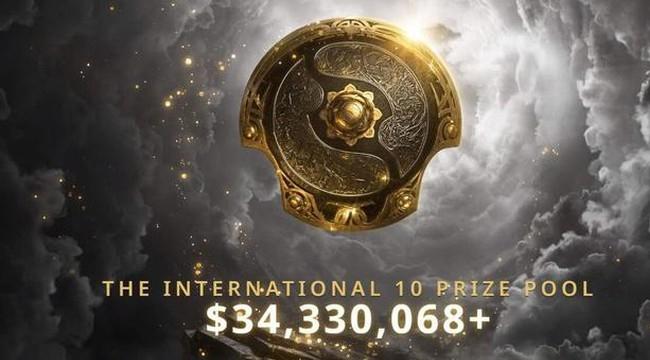 Dota 2: TI10 trở thành giải đấu có tổng số tiền thưởng cao nhất trong lịch sử esports với hơn 34 triệu USD