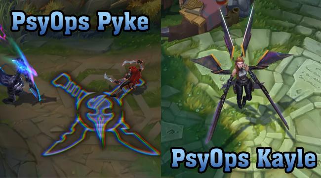 LMHT: Lộ diện dòng trang phục PsyOps BRG, Yasuo True Damage có phiên bản Hàng Hiệu