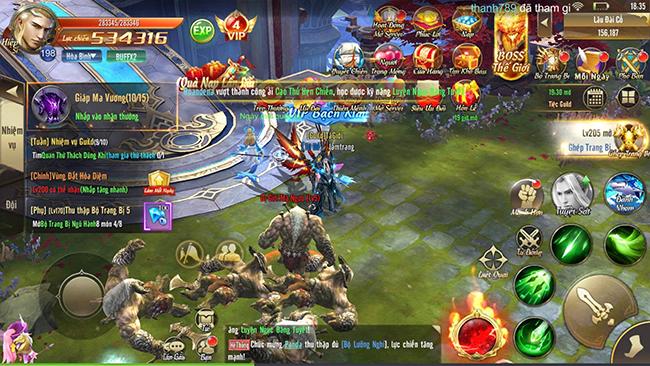Trải nghiệm Thiên Khởi Chi Môn: Nhộn nhịp ngày ra mắt, gameplay chuẩn nhập vai