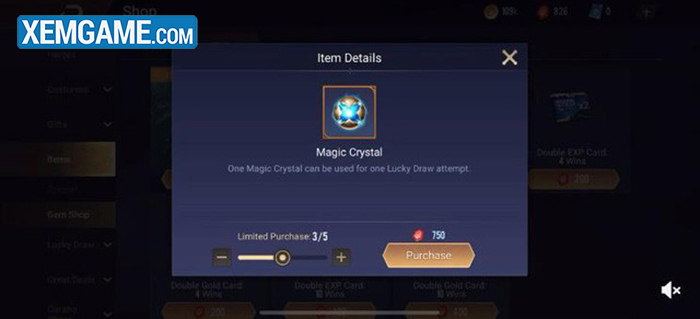 Game thủ bản Global cũng được dùng Ruby mua vé quay giới hạn mỗi ngày.