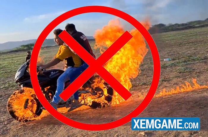 Bắt chước Ghost Rider, hai Youtuber người Ấn tự tẩm xăng lên xe, thực hiện màn trình diễn nguy hiểm để rồi nhận muôn vàn chỉ trích - Ảnh 6.