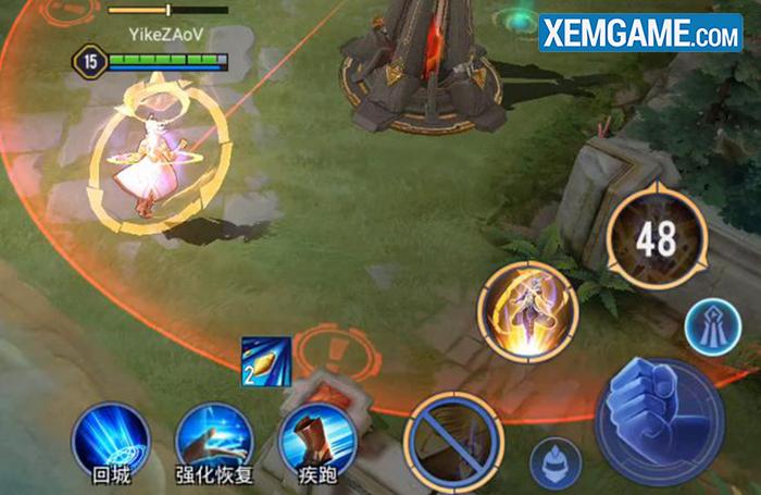 Chiêu cuối của Bright giúp biến đổi kỹ năng thứ 2.