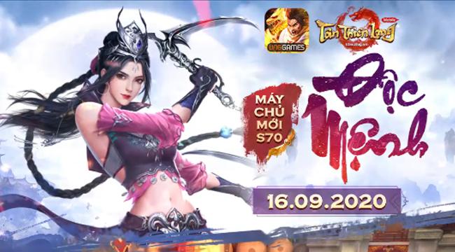 Tân Thiên Long Mobile VNG ra mắt server mới chào mừng phiên bản Tinh Túc Độc Mệnh