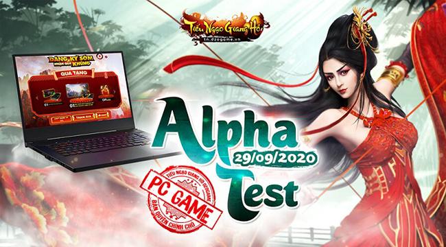 Tiếu Ngạo Giang Hồ sắp khai mở Alpha Test cùng hàng loạt sự kiện đáng mong chờ
