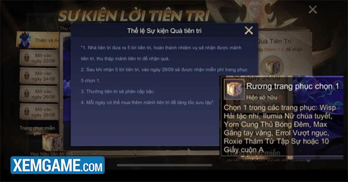 Liên Quân Mobile: Garena đồng loạt tặng miễn phí lô skin bậc A tự chọn mừng bản update mới - Ảnh 2.
