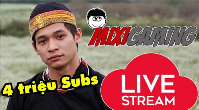Độ Mixi chính thức cán mốc 4 triệu subs trên youtube
