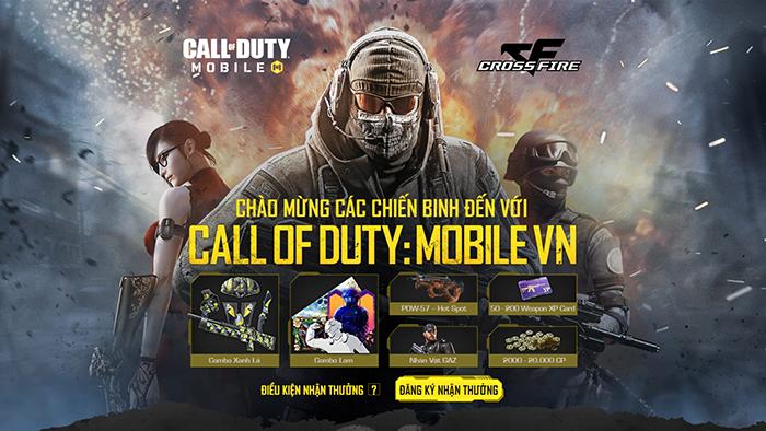 """Call of Duty: Mobile VN có hàng loạt phúc lợi chào mừng """"cựu binh"""" từ Crossfire Legends"""