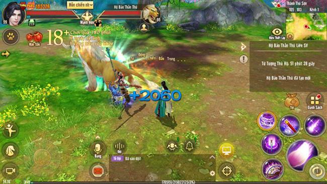 Hộ Bảo Thần Thú Liên Server là cơ hội để game thủ rèn sức, rèn trí trong Tân Thiên Long Mobile