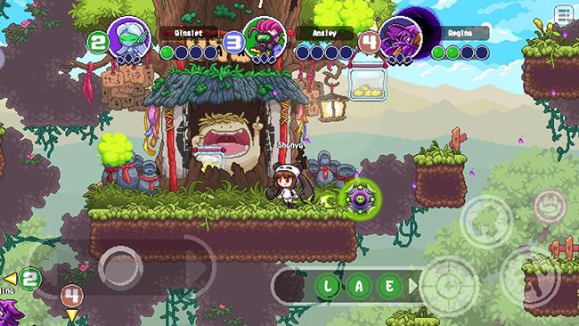 """Letter War – MOBA pixel siêu dễ thương với lối chơi cuộn cảnh """"lạ"""""""