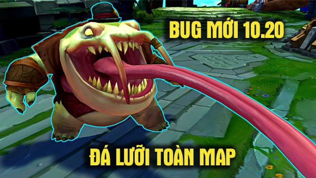 LMHT: Xuất hiện bug Tahm Kench đá lưỡi toàn bản đồ