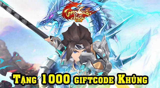 Tam Quốc Chiến Chibi tặng 1000 giftcode cho game thủ nhân dịp ra mắt