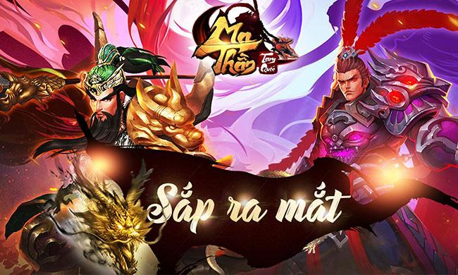 Ma Thần Tam Quốc sắp ra mắt game thủ Việt trong tháng 10