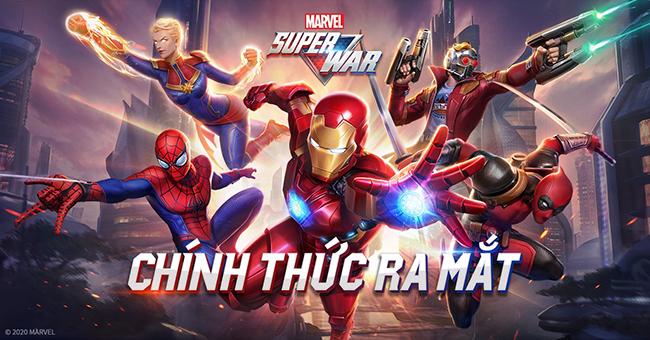 MARVEL Super War VN có ngày ra mắt chính thức, không đồng bộ dữ liệu với bản quốc tế