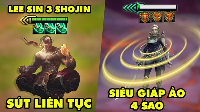 TOP khoảnh khắc điên rồ nhất Đấu Trường Chân Lý #117: Lee Sin 3 Shojin max sút, Siêu Giáp Ảo 4 sao