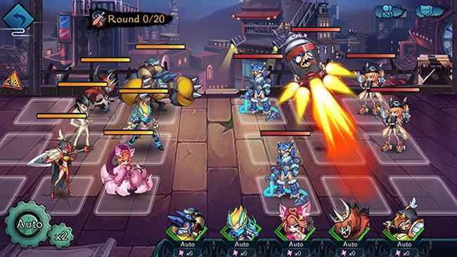 Akuma Note – game chiến thuật thẻ tướng với đồ họa chibi dễ thương