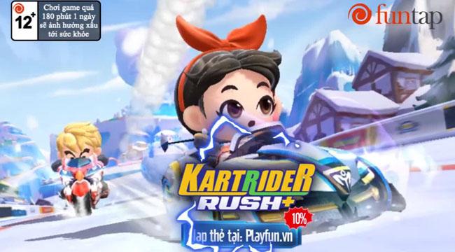 KartRider Rush+ ra mắt fanpage tiếng Việt, sẽ do Funtap phát hành
